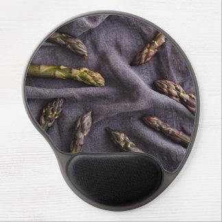 Purple asparagus gel mouse pad