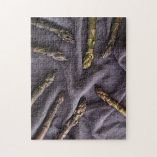 Purple asparagus jigsaw puzzle