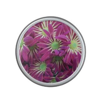 Purple Aster Flower Bluetooth Bumpster Speaker