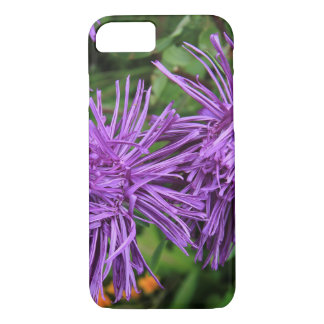 Purple Aster Flowers iPhone 7 Case