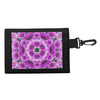 Purple ASter Kaleidoscope Accessory Bag