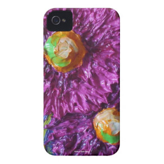 Purple Asters Blackberry Case