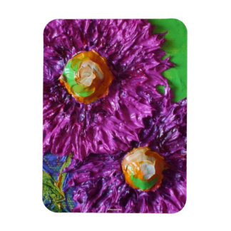 Purple Asters Magnet