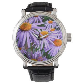 Purple Asters Watch