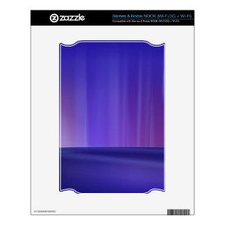Purple Aurora Skin For The NOOK