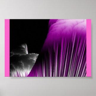 Purple Avalanche Poster