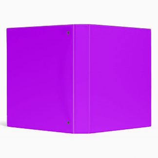 Purple Avery Binder