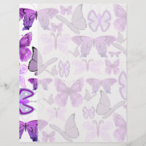 Purple Awareness Butterflies
