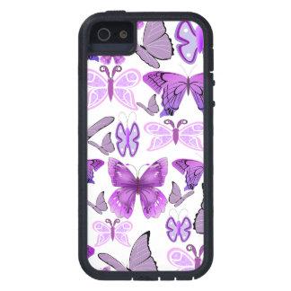 Purple Awareness Butterflies Case For iPhone SE/5/5s