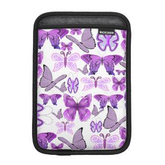 Purple Awareness Butterflies iPad Mini Sleeve