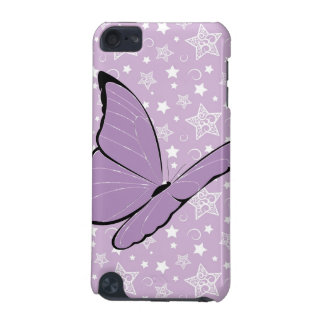 Purple Awareness Butterfly iPod Touch (5th Generation) Cover