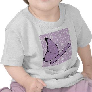Purple Awareness Butterfly T-shirt