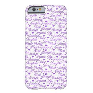Purple Awareness iPhone 6 case