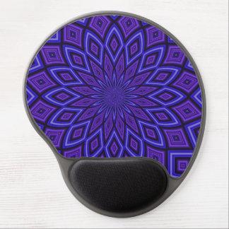 Purple Awareness Kaleidoscope Gel Mouse Mats
