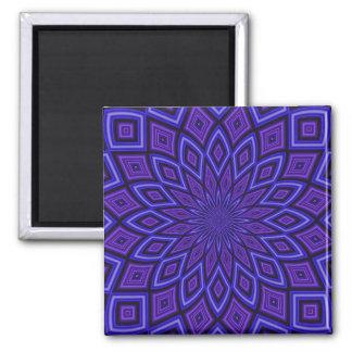 Purple Awareness kaleidoscope Magnet