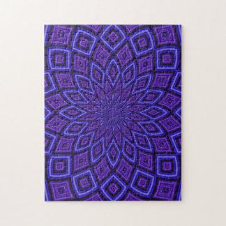 Purple Awareness kaleidoscope Puzzle