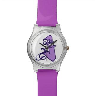 Purple Awareness Mascot Watch