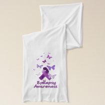 Purple Awareness Ribbon: Epilepsy Scarf
