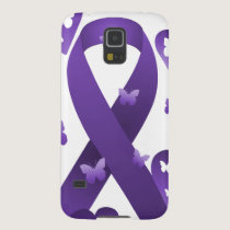 Purple Awareness Ribbon Galaxy S5 Cover