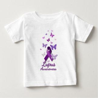 Purple Awareness Ribbon: Lupus Baby T-Shirt