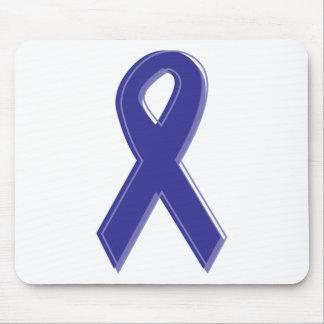 Purple Awareness Ribbon Mouse Pad