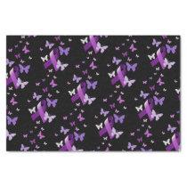 Purple Awareness Ribbon  Tissue Paper
