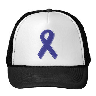 Purple Awareness Ribbon Trucker Hat