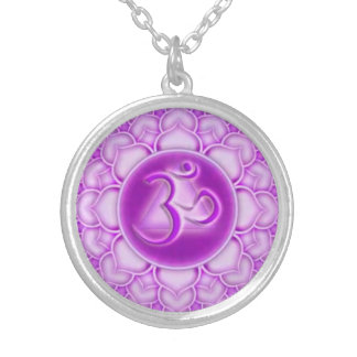 Purple Awesome Neckace Silver Plated Necklace