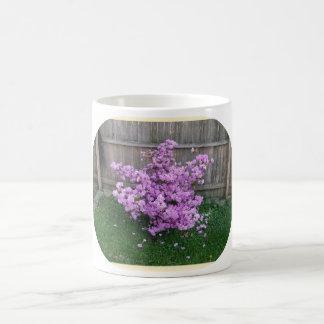 Purple Azalea Morphing Mug