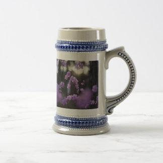Purple Azaleas of Hope Beer Stein
