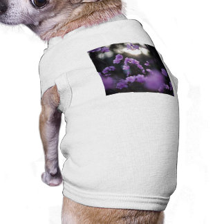 Purple Azaleas of Hope Dog T-shirt