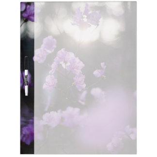 Purple Azaleas of Hope Dry Erase Boards