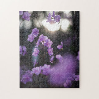 Purple Azaleas of Hope Jigsaw Puzzles