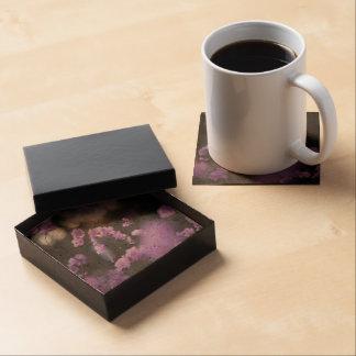 Purple Azaleas of Hope Beverage Coasters