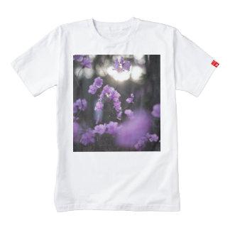 Purple Azaleas of Hope Zazzle HEART T-Shirt