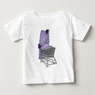 Purple Baby Bassinet Baby T-Shirt