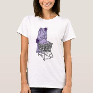 Purple Baby Bassinet T-Shirt
