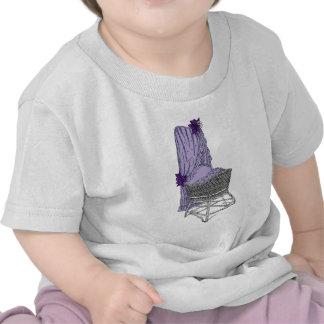 Purple Baby Bassinet Tshirt