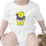 PURPLE BABY BEAR INFANT SHIRT