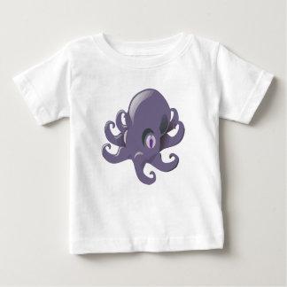 Purple Baby Octopus Baby T-Shirt