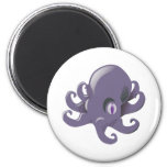 Purple Baby Octopus Magnet