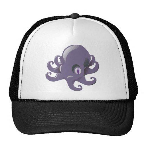Purple Baby Octopus Mesh Hat