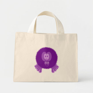 Purple Baby Pom Pom Pal Bag