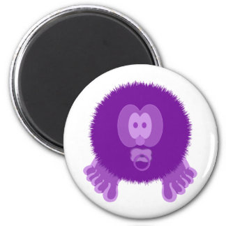 Purple Baby Pom Pom Pal Magnet