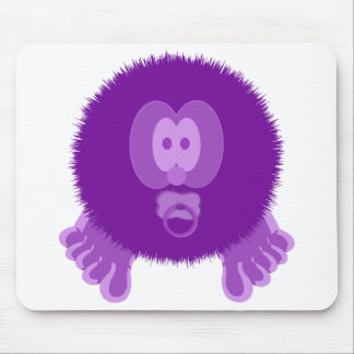 Purple Baby Pom Pom Pal Mousepad