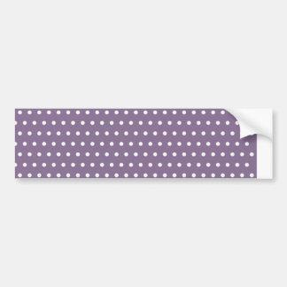 purple baby scores scored pünktchen dabs getupf bumper sticker