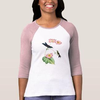 Purple Backed Thornbill Hummingbird Ladies T-Shirt