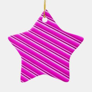Purple background ceramic ornament