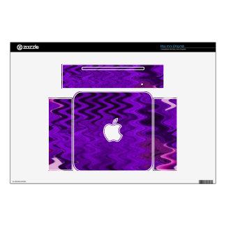 purple background design mac mini decal