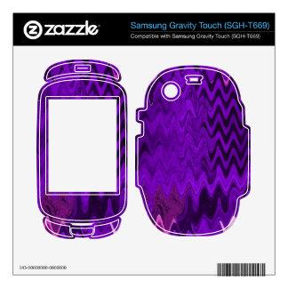 purple background design samsung gravity touch skins
